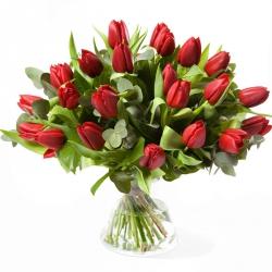 Boeket tulpen (op kleur)