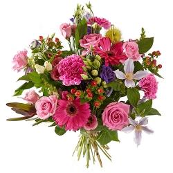 Sprankelend roze